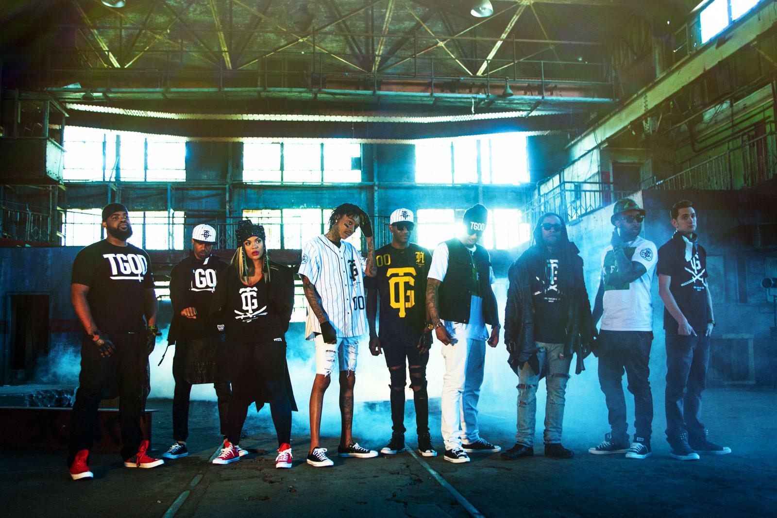 Wiz Khalifa and the Taylor Gang
