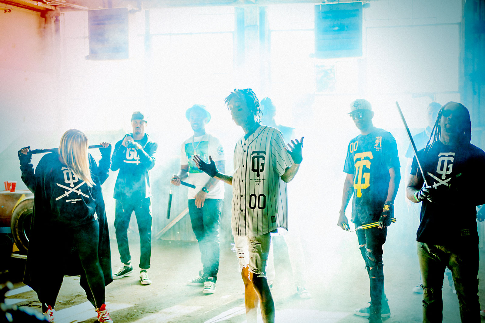 Wiz Khalifa and the Taylor Gang