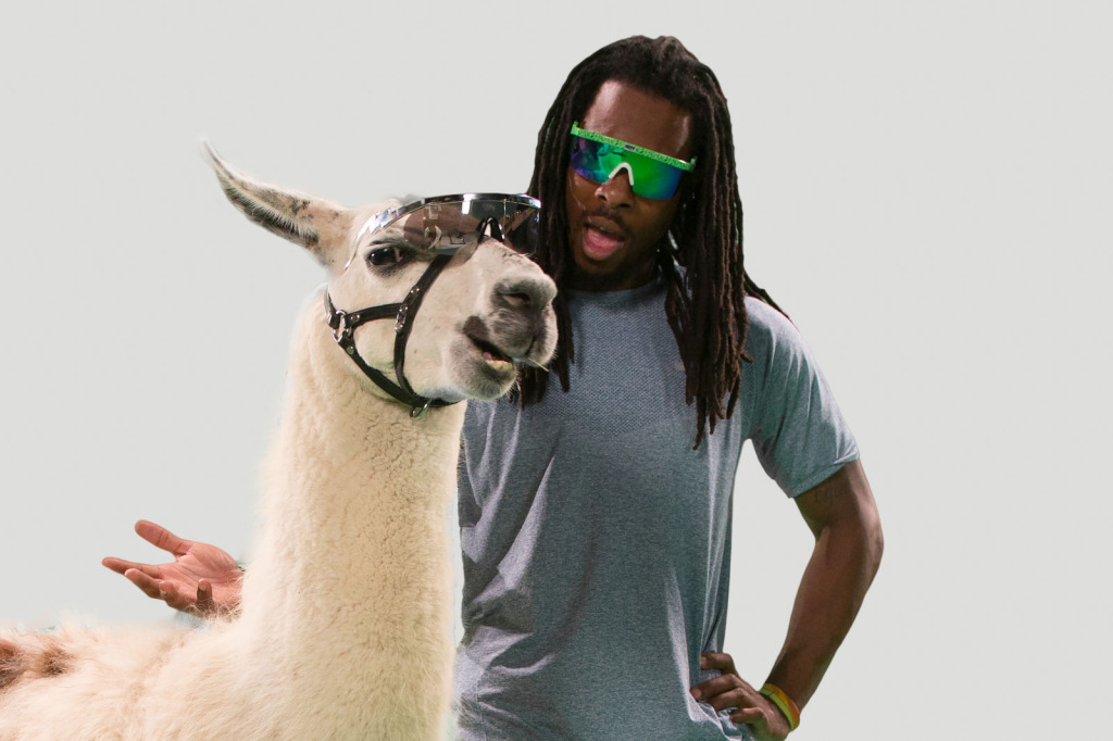 BFF's Richard Sherman and Spartacus