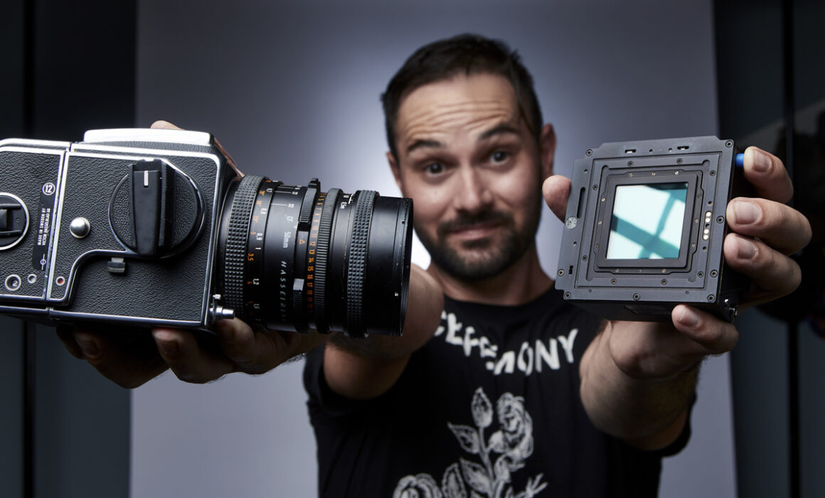 Mark Fore's First Youtube Video about the Hasselblad 500cm